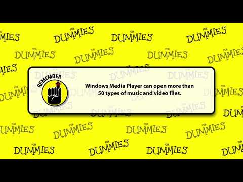 How to Use Windows Media Player on Windows 8 For Dummies