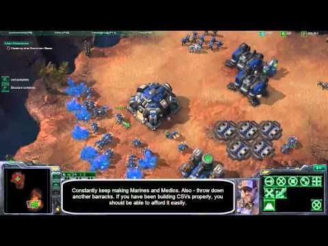 Starcraft 2 Brutal: Mission 2 - The Outlaws Video