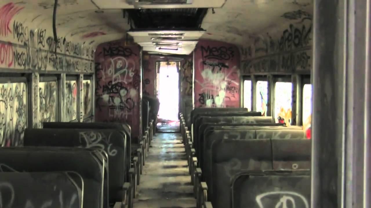 Abandoned B Amp M Budd Rdc S Outside Of Boston Youtube