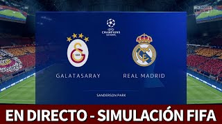 Galatasaray vs. Real Madrid | FIFA 20: simulación del partido de Champions | Diario AS