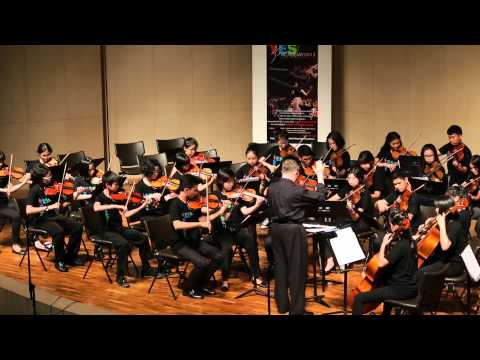 YES Academy Thailand 2013 Philharmonic Orchestra - Fairly Fugal
