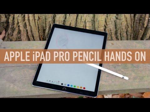 iPad Pro Apple Pencil - Hands on