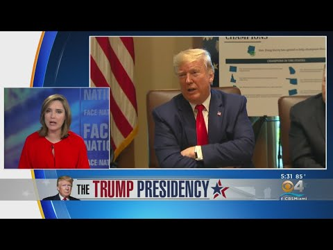 "Margaret Brennan, Moderator Of ""Face the Nation,"" On Trump Presidency"