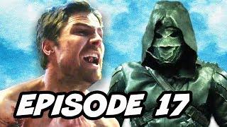 Arrow Season 5 Episode 17 - TOP 10 WTF and Comics Easter Eggs