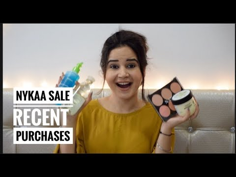 NYKAA FESTIVE SALE | MY RECENT PURCHASES | HAIR | MAKEUP | SKIN | SHIVSHAKTI SACHDEV