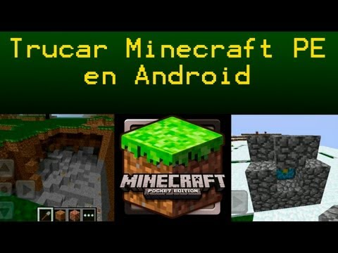 Tutorial para trucar / cheats Minecraft PE