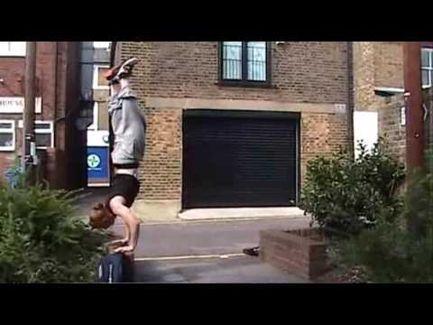 Brad Moss - August 2007 - Parkour and Movement