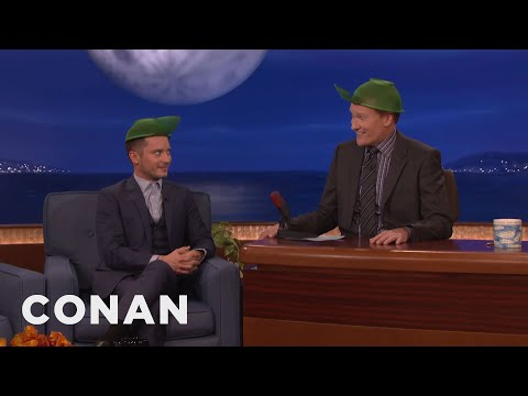 "Elijah Wood On ""Back To The Future 2""  - CONAN on TBS"