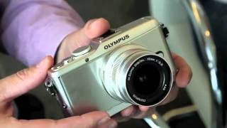 Olympus Pen E P3, E PL3 & E PM1 First Look Hands On Review   YouTube