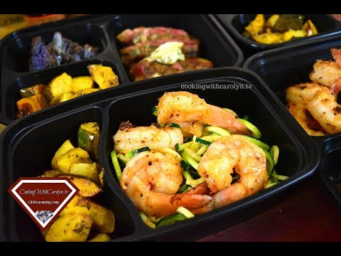 EASY MEAL PREP IDEAS  KETO FRIENDLY MEAL PREP  Cooking With Carolyn
