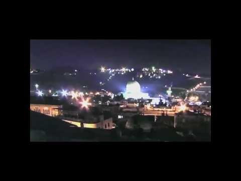 OVNI acima do Domo da Rocha na Mesquita de Jerusalém - A Arca da Aliança estaria enterrada ali?