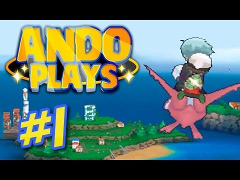Let's Play Pokemon Omega Ruby Alpha Sapphire Demo Part 1 - Mossdeep City