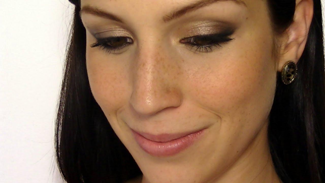 maquillage de soir u00e9e rapide et facile
