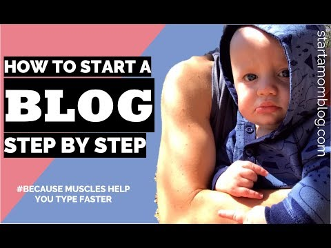 How to Start a Blog - Step by Step for Beginners - Click by Click