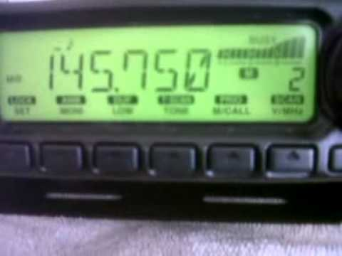 Amateur Radio:2 meter band opening from Cape Town into Namibia.