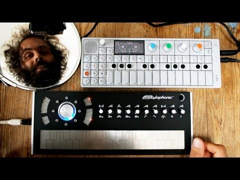 Stylophone S2 Cuckoo Review + OP1 Jam