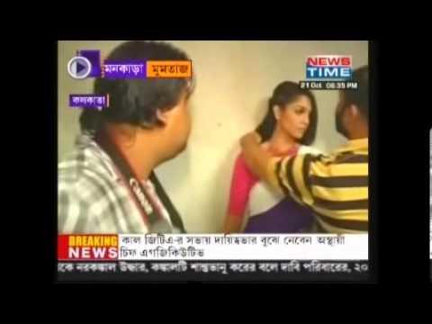 Sushavan Saha doing new experimental  shoot for actress Mumtaz...