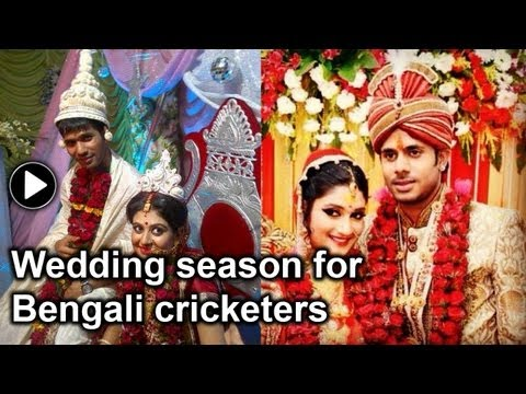 Manoj Tiwary gets hitched, Ashok Dinda marries soon after