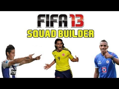 FIFA 13 Ultimate Team - Squad Builder - COLOMBIA