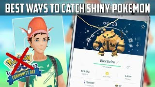 Best Ways To Catch Shiny Pokemon In Pokemon Go!