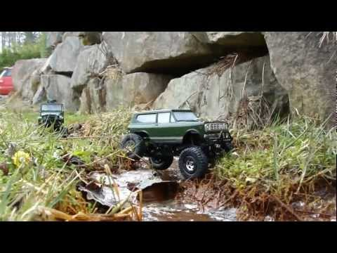 RC TRAIL ARMY LANDY, SCOUT II AND TRAILER EXPEDITION