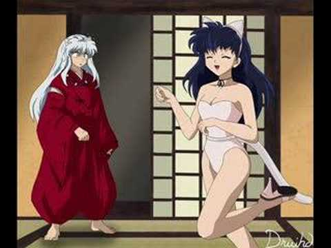 Some funny and hot inuyasha and koga pic's