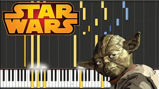 Star Wars - John Williams - Force Theme | Piano Tutorial