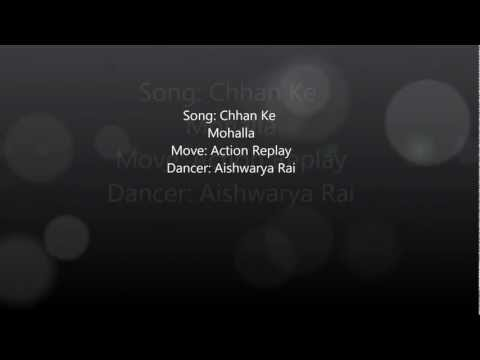 Chhan Ke Mohalla (lyrics) - Action Replay video