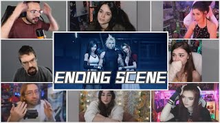 "FINAL BATTLE!! Final Fantasy 7 Remake ""ENDING SCENE"" Gamers Reaction Mashup"