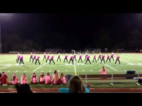 Somers High School Dance Team, Pink Out Performance 2014