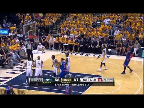 Carmelo Anthony 39 points @ Indiana (Full Highlights) (2013 NBA Playoffs GM6) ᴴᴰ