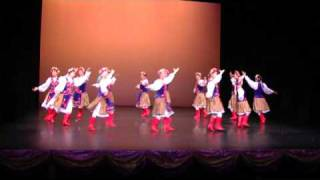 Ukraine dance烏克蘭舞 Folk dance Choreographed by--- Law Kam wah --teacher--2009年香港中西區(25屆)舞蹈比賽--優異獎