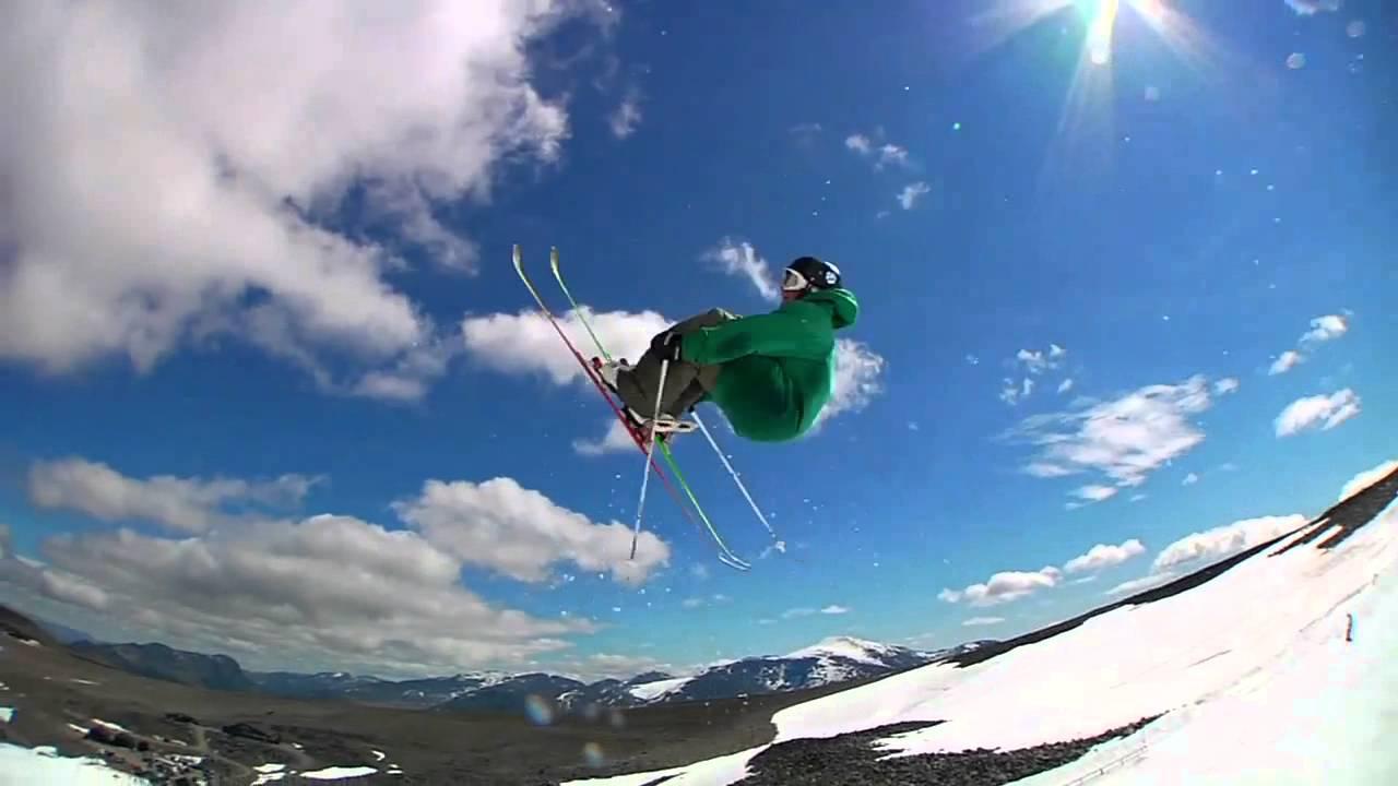 ski jump tricks