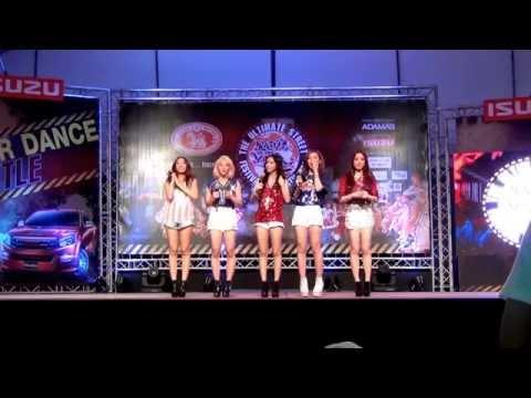 140823 Gaia - Ma Boy + Lost Stars cover Dance Battle Contest video