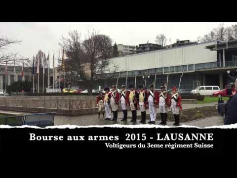 Voltigeurs 3eme Régiment Suisse - Bourse aux armes - Lausanne - 2015