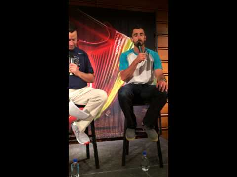 Matt Carpenter Nike Mall of America Pt. 1