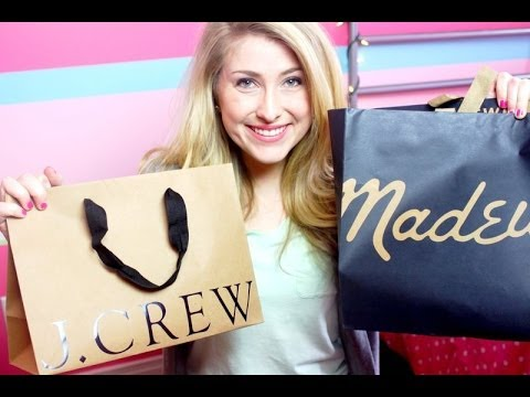 2014 SPRING HAUL ft. JCrew, Madewell, Kendra Scott