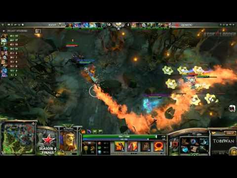 Quantic Gaming vs iCCup Game 2 StarLadder VI LAN Finals TobiWan