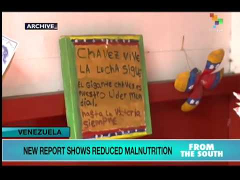 Venezuela making strides in tackling malnutrition