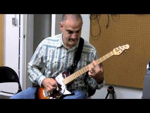 Trying an Albert Lee model guitar
