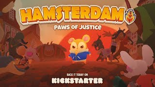 Hamsterdam - Game Reveal Trailer | Kickstarter | Muse Games