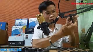 LẮP GHÉP BỘ HÁT LIVE MIC BM 800 VÀ SOUND CARD V8 AUTOTUN