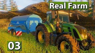 REAL FARM | Gras und Wasser 🚜 #03 Landwirtschafts Simulation Lets Play deutsch german