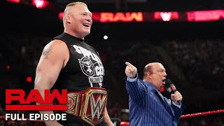 WWE Raw Full Episode, 15 July 2019