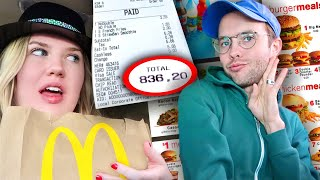 We Ordered the ENTIRE Menu at McDonalds!