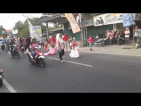 parade kostum TK kecamatan ploso jombang