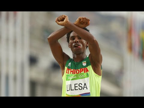 BBN Exclusive Interview With Athlete Feyisa Lelisa