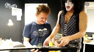 BUYING A GUITAR FROM KISS PAUL STANLEY !!!