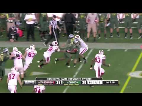 Oregon Ducks Rose Bowl Highlights 2012
