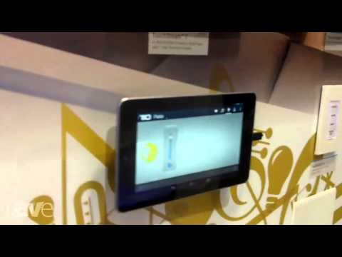 CEDIA 2013: TiO Presents the TouchStream 7 In-Wall Amplified Streaming Audio Player